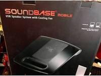 Soundbase USB Speaker System with Cooling Fan