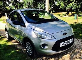 STUNNING 2009 FORD KA STUDIO, Only 41K Mileage & New MOT-No Advs, Road Tax Only £31.50 per year