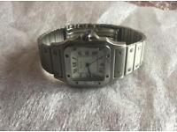 Cartier Santos - Stainless Steel - 29mm Case - Unisex
