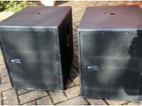 RCF TTs12a 1x12 Subs Flagship 1x12 subs as good as it gets