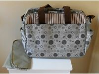 Baby Changing Bag with Mat, New