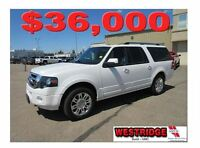 2012 Ford Expedition Max Limited, Remote Start, Tow Package, Bac