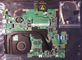 LENOVO FLEX 2-15/15D Motherboard + FAN + HEATSINK+CPU AMD A8 A8-6410 2.4 GHz+DC JACK £35 ONO