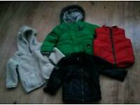 Boys Next coats & bodywarmer age 12-18 mths