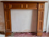 Beautiful Victorian Fireplace Surround - Free to a good home