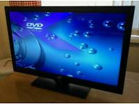 24in JVC LED TV + Built in DVD Player