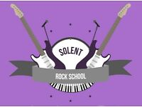 Guitar / Drums / Singing lessons at Solent Rock School! - Burridge & Whiteley areas