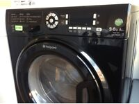 HOTPOINT Ultima - Black , 9+6KG , A Rated , Digital WASHER DRYER