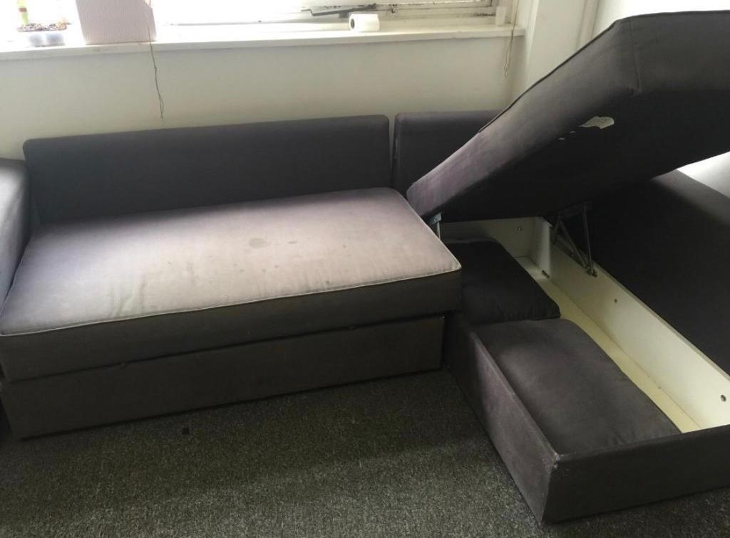 Ikea Manstad Sofa Bed With Storage Pick Up Only 50