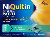 Quit smoking? Niquitin 6 week kit