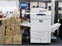 XEROX DOCUCOLOR DC242 PRODUCTION PRINTER WITH BUSTLED FIERY RIP