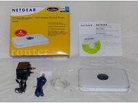 Netgear DG834PN 108Mbps RangeMax ADSL Modem Wireless Router - Like new, Cash on collection