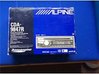Alpine CDA-9847R car stereo