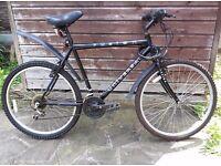 Gents 18 gear bicycle
