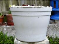 Large Heavy Handmade Concrete Stone Plant Pot Planter