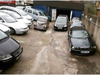 All cars and Vans wanted in South East.