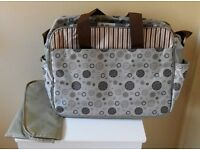 New Baby Kingdom Changing Bag with Changing Mat