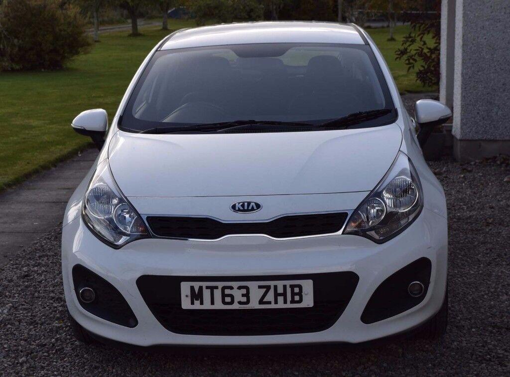 KIA RIO 1.2 White 5dr Hatchback 2013 (63 reg) 59,439 miles