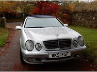 Mercedes CLK 320 Elegance Automatic, Silver 2001
