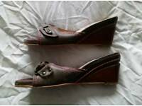 Ladies size 5 Fly sandals