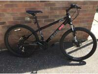 Silver Fox Mountain Bike with spare set of tyres and inner tubes
