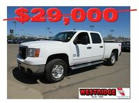 2010 GMC SIERRA 2500HD SLE,remote start,cloth interior,box liner