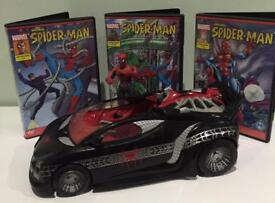 Spider-Man car and marvel figure
