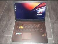 ASUS ROG Strix GL702VM 17.3″ G-sync - Ultra Gaming Laptop