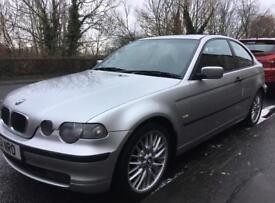 BMW 316ti ** ONLY 88000 MILES **