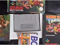 Donkey kong country collection Snes