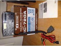 Icom IC-720A HF Transceiver with faults