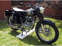 Royal Enfield 500 Bullet Efi, Trials style