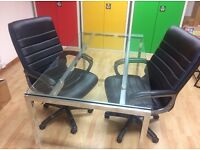 Leather Look Executive Office Chair x 2