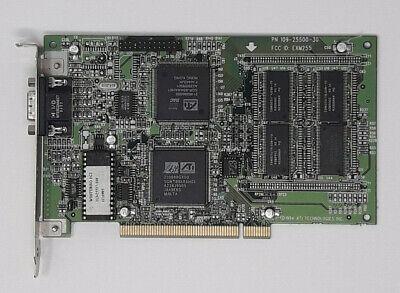 Mach64 Video - ATI PCI MACH64 109-25500-30 Video Card Graphics Adapter (1022552930)