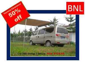 BNL OUTDOORS Car Side Awning Roof Top Tent 2.5M x 2M Bayswater Knox Area Preview