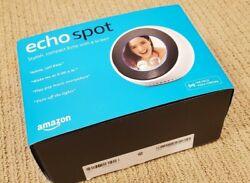 Amazon ECHO SPOT Smart Alarm Clock Speaker with Alexa White
