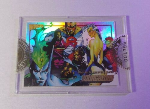 1992 Wizard Press Promo Card #3 Rob Liefeld's Youngblood FACTORY SEALED