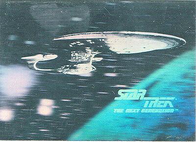STAR TREK 25TH ANNIVERSARY HOLOGRAM CARD H2