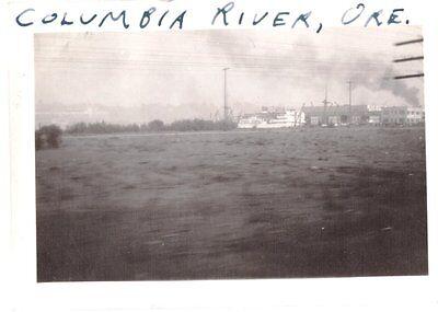 Vintage 1935 Ccc Civilian Conservation Corp Astoria Oregon Ship Terminals Photo