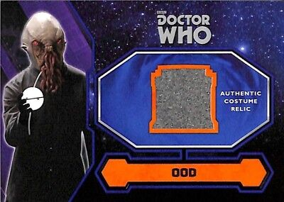 Doctor Who Kostüm Karte (2015 Doctor Who Kostüm Karte Relic Ood)