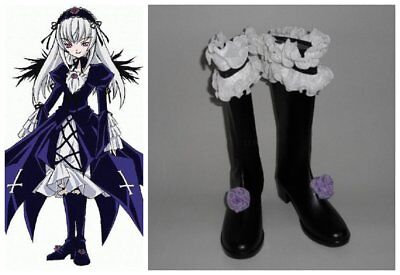 Rozen Maiden Suigintou cosplay kostüm stiefels stiefel schuhe (Rozen Maiden Suigintou Kostüm)