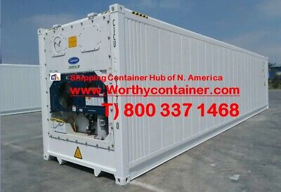 40 High Cube New One Trip Refrigerator Container In Houston Tx