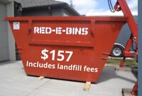 Fast bin rentals -  All in pricing + same day service