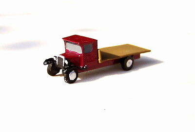 P&D Marsh N Gauge N Scale X27 Bedford Flatbed lorry (intro 1931) PAINTED for sale  Shipping to Ireland