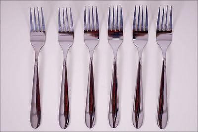 Menügabel 6 Stück Edelstahl 45g / Gabel - Besteck Gabelset Speisegabel Essgabel
