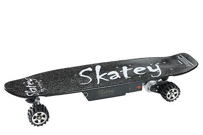 Skatey 400 Watt Elektro Skateboard black E-Longboard E-Skateboard bis 24km/h