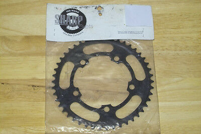 BMX Works Chain Ring Alloy 44T 130 BCD CNC 5 Hole Old School Vintage BMX Works