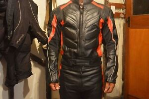 Thick padded leather motorcycle gear Murwillumbah Tweed Heads Area Preview