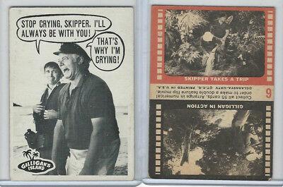 1965 Topps, Gilligan's Island, #6 Stop Crying, Skipper. I'll Always