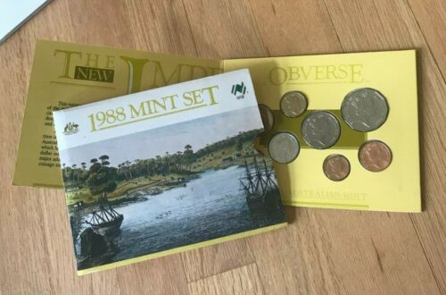 1988 Australia Uncirculated Coin Set